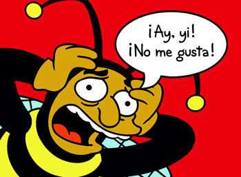Ay ay ay, no me gusta!