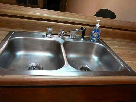 The kitchen sink.