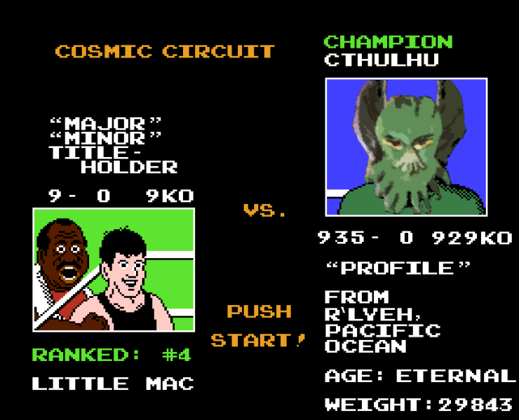 Mac vs. Cthulhu