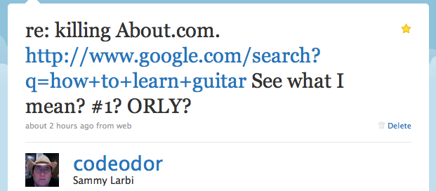 about.com guitar