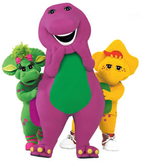 Barney, the bloated Javasaurus