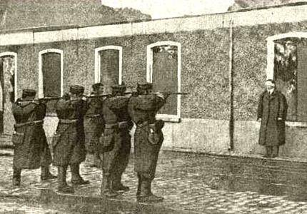 A firing squad