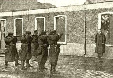 A firing squad