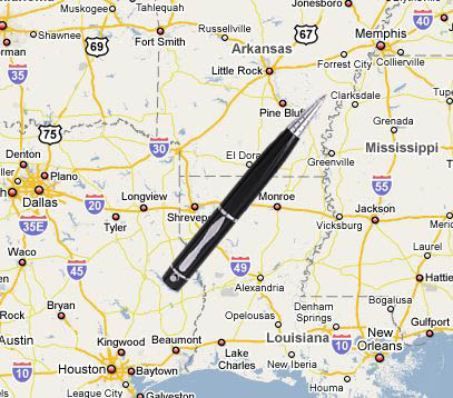 One time, the pen sent me to Memphis.