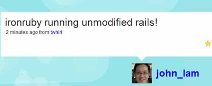 IronRuby runs unmodified Rails