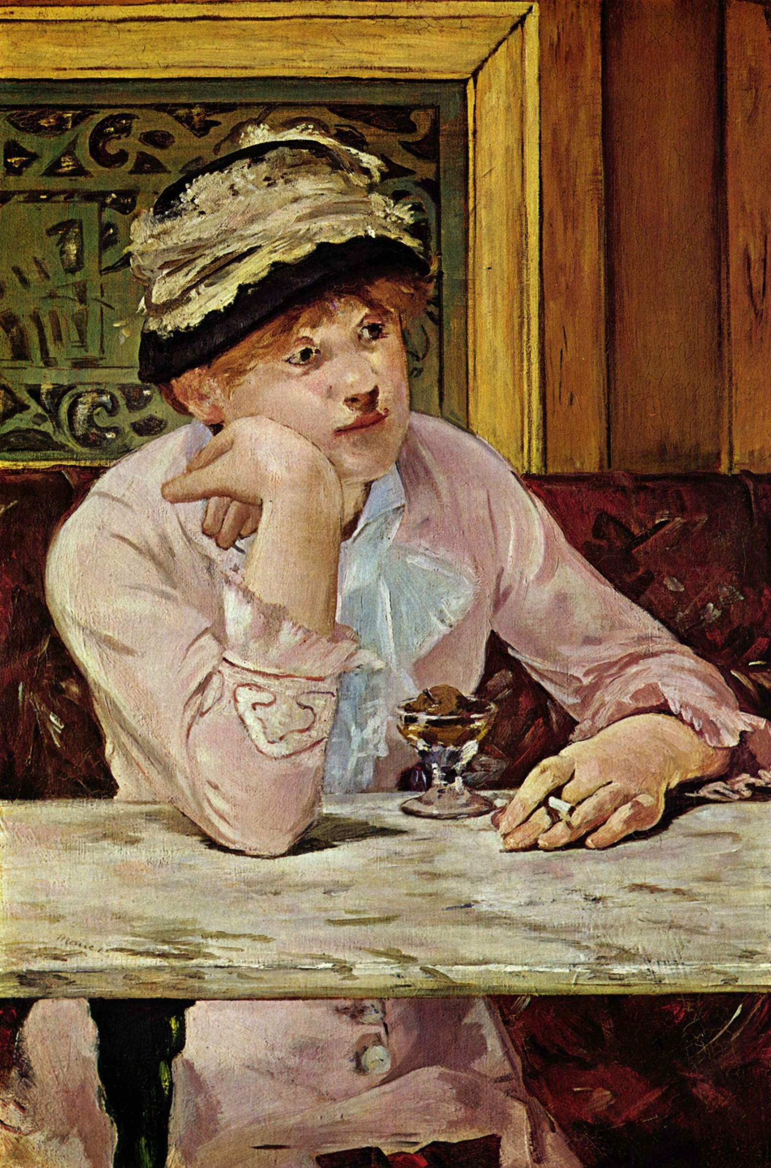 A painting from the Impressionist, Manet