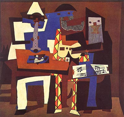 Picasso's 3 Musicians