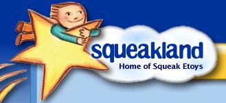 Squeakland logo