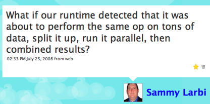 What if our runtimes automatically split into several processes when it was safe to do so?